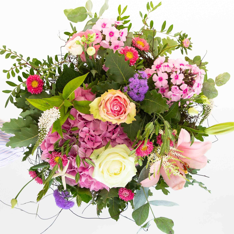 Seasonal Pastel Blooms Bouquet Pont De Chailly Fleurs